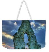 Midley Church Ruins At Dusk Weekender Tote Bag