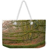 Moss-covered Big Leaf Maple Branches Weekender Tote Bag