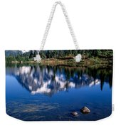 Mt. Shuksan Reflected In Picture Lake Weekender Tote Bag