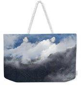 Mt. Bierstadt In The Clouds Weekender Tote Bag