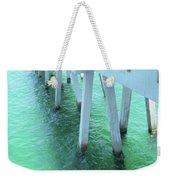 Navarre Beach Fishing Pier Weekender Tote Bag