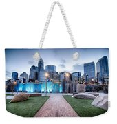 New Romare-bearden Park In Uptown Charlotte North Carolina Earl Weekender Tote Bag