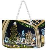 Nightlife Around Charlotte Weekender Tote Bag