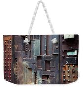 Nyc Designer's Dungeon Door Weekender Tote Bag