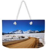 Open Road Tothe Sawtooth Mountains Weekender Tote Bag