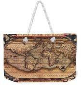 Ortelius World Map -typvs Orbis Terrarvm - 1570 Weekender Tote Bag