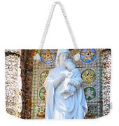 Our Lady Of Perpetual Help Mary And Jesus Weekender Tote Bag