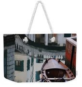 Oval Reflection Weekender Tote Bag
