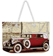 Packard Standard Eight Convertible Weekender Tote Bag