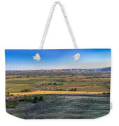 Panoramic Emmett Valley Weekender Tote Bag
