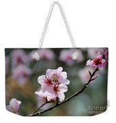 Peach Blossoms I Weekender Tote Bag