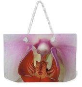 Phalaenopsis Orchid Closeup Weekender Tote Bag