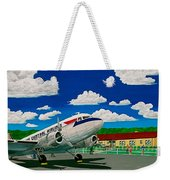 Portsmouth Ohio Airport And Lake Central Airlines Weekender Tote Bag