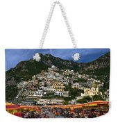 Positano Crowded Beach Weekender Tote Bag