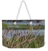 Purpletop Vervain Wildflowers Weekender Tote Bag