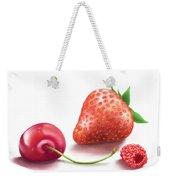 Red Fruits Weekender Tote Bag