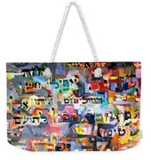 Results Of Laziness Weekender Tote Bag