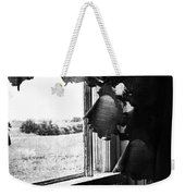 Return From Waiting  Weekender Tote Bag by Empty Wall