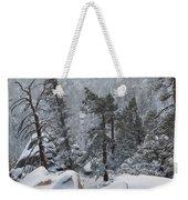 San Jacinto Winter Wilderness Portrait Weekender Tote Bag