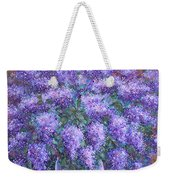 Scented Lilacs Bouquet Weekender Tote Bag