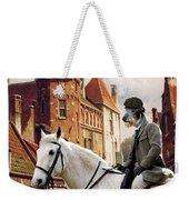 Scottish Deerhound Art Canvas Print Weekender Tote Bag