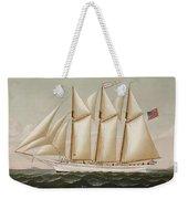 Ship Weekender Tote Bag