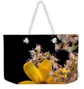 Shy Yellow Flower Weekender Tote Bag