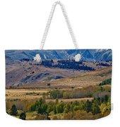 Sierras Mountains Weekender Tote Bag