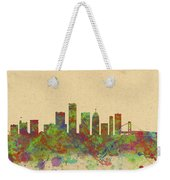 Skyline Of Detroit Usa Weekender Tote Bag