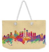 Skyline Of Seattle  Usa Weekender Tote Bag