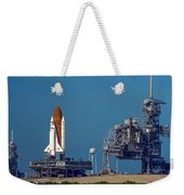 Space Shuttle Roll-around Weekender Tote Bag