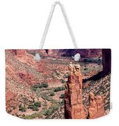 Spider Rock In Canyon De Chelly Weekender Tote Bag