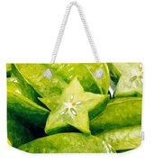 Star Fruit Carambola Weekender Tote Bag