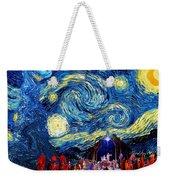 Starry Night In Bethlehem Weekender Tote Bag