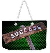 Success Sign Post Weekender Tote Bag