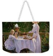 Summer Afternoon Tea Weekender Tote Bag