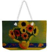 Summer Sunflowers  Weekender Tote Bag