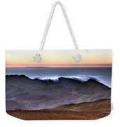 Sunrise At Haleakala Crater, Maui Weekender Tote Bag