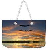 Sunset Lancasters Weekender Tote Bag