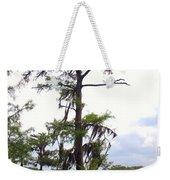 Cypress Trees Weekender Tote Bag