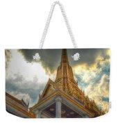 Temple Roof Weekender Tote Bag