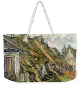 Thatched Cottages In Chaponval Weekender Tote Bag