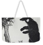 The Bear And The Fox Weekender Tote Bag