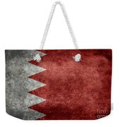 The Flag Of The Kingdom Of Bahrain Vintage Version Weekender Tote Bag