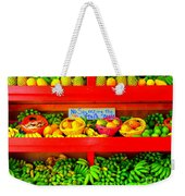 No Squeezing The Fruits Weekender Tote Bag