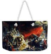 The Last Day Of Pompeii Weekender Tote Bag