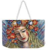 The Loving Angel Weekender Tote Bag