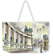 The Millennium Monument In Budapest Weekender Tote Bag