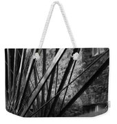 The Old Mill-black And White Weekender Tote Bag