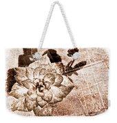 Thumbelina Rose - Miniature Rose - Digital Paint II Weekender Tote Bag